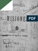 Historia de Misiones Luis Fuilland $2.00