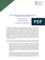 Programa Foro de Energía, organizado por el Centro de Estudios de Políticas Públicas y Gobierno de la UAH