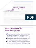 Cadenas y Arrays