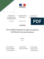 Rapport de l'Inspection generale des affaires sociales (Igas), du Conseil general de l'environnement et du développement durable et du Controle general economique et financier