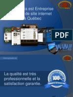 Oolong Media est Entreprise de création de site internet situé à Québec