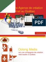 Webmestre-Agence de création internet au Québec