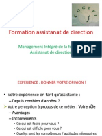 Formation Assistanat de Direction