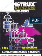 Construx 6460 - Lunar Command Station Instruction Sheet