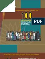 100 PREGUNTAS SOBRE DESCENTRALIZACIÓN, AUTONOMÍA Y COMPETENCIAS