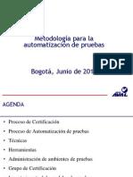 Metodologia automatizacion de pruebas funcionales