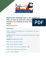 FIESTAS PATRIAS EN EL CNCA VALPARAISO, INVITAN ANFUCULTURA VALPARAISO, CLUB DEPORTIVO CNCA Y FUNCIONARIOS