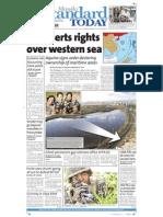Manila Standard Today - Thursday (September 13, 2012) Issue