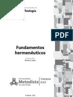 Guia de Estudos 2º Semestre - Fundamentos Hermenêuticos