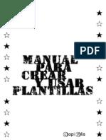 Manual Plantillas Stencil