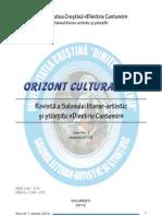 REVISTA ORIZONT CULTURAL NR. 1/2012
