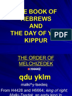 Hebrews and Yom Kippur