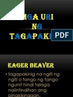Mga Uri ng Tagapakinig