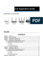TL-WR1043ND Print Server Appli