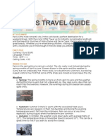 Hotels4U Paris Travel Guide