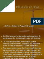 Tipos de Impuestos en Chile