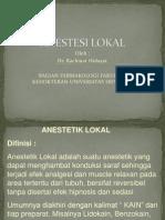 Kuliah Anestesi Lokal Pskg