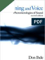 Ihde, Don - Listening & Voice - Phenomenologies of Sound (2nd Ed, 2007)