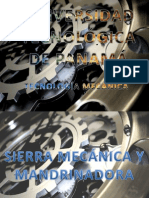 SIERRA MECÁNICA - MANDRINADORA