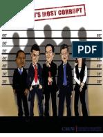 CREW Most Corrupt Members of Congress Report 2012