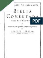 Profesores de Salamanca - Biblia Comentada 06 Hechos y Pablo