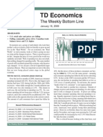 The Weekly Bottom Line - Jan 16 2009