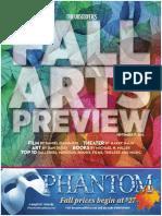 Fall Arts 2012