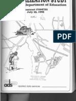 Regionalization Study - Final Report, Vol I, 1995