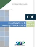 Estrategia Geral de TI 2011 2012 SISP