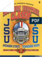 Southern Heritage Classic 2012 Program