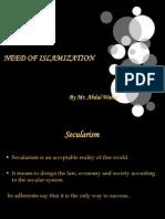 Need of Islamization
