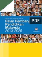 Ringkasan Eksekutif Laporan Awal Pelan Pembangunan Pendidikan 2013-2025