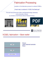 VCSEL Fab Overview