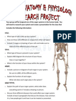 A and P Research Project