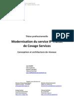 Modernisation du service IP Transit de Covage Services - Thèse professionnelle - Jean Rebiffé - Télécom ParisTech - 2010