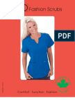 PRO Fashion Scrubs - Fall 2012 Wholesale Catalog