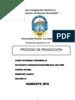 Proceso de Produccion Trabajo