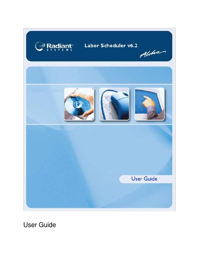 62 Aloha Labor Scheduler User Guide Ue   Personal Computers   Scheduling  (Computing)