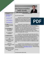 18th District e-Newsletter - September 2012