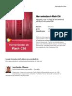 Herramientas de Flash Cs6