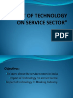 45036387 Impact of Technology on Service Sector Ppt
