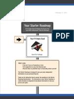 Personalized Starter Roadmap