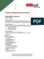 AutoCAD 2013 Advanced
