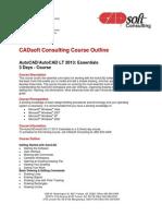 AutoCAD&LT 2013 Essentials