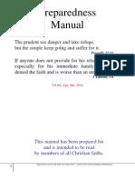 Comprehensive Preparedness Manual