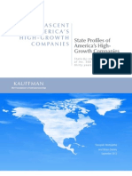 State Profiles of America's High-Growth Companies