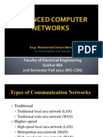 Week 03 - Part 1 - Communication Networks