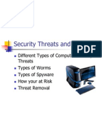 Computer Security Threats