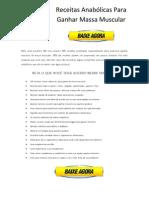 Download Livro Receitas Anabolicas Para Ganhar Massa Muscular