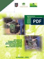 Estudio Sobre Trabajabilidad de Las Especies Forestales